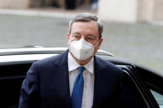 """Reuters""/""Scanpix"" nuotr./Mario Draghi"