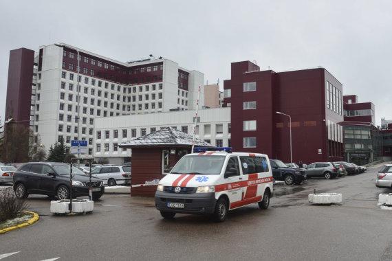 G.Adinavičiūtės/15min nuotr./Vilniaus universiteto ligoninės Santariškių klinikos