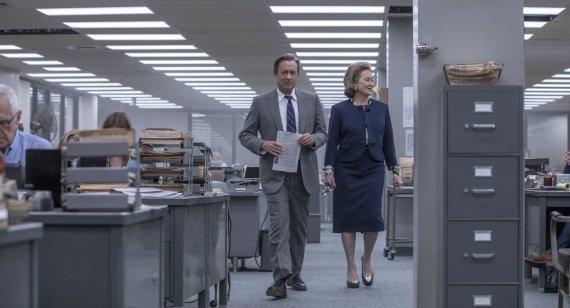 """Kadras iš filmo/Meryl Streep ir Tomas Hanksas dramoje """"Valstybės paslaptis"""""""