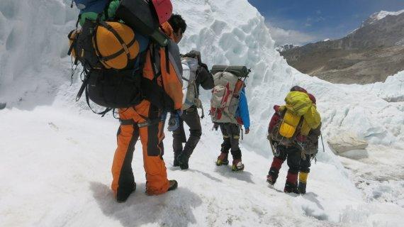 """""""Reuters""""/""""Scanpix"""" nuotr./Kopimas į Everestą"""