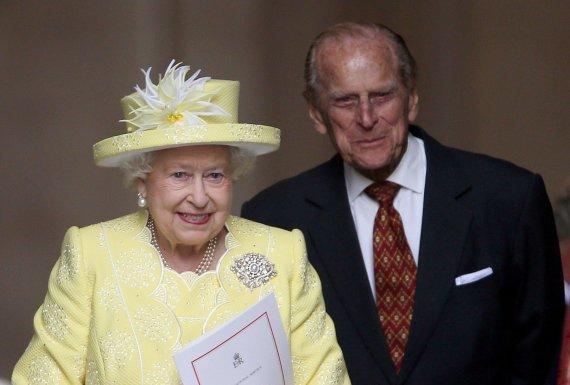 """Scanpix""/""PA Wire""/""Press Association Images"" nuotr./Elizabeth II ir princas Philipas"