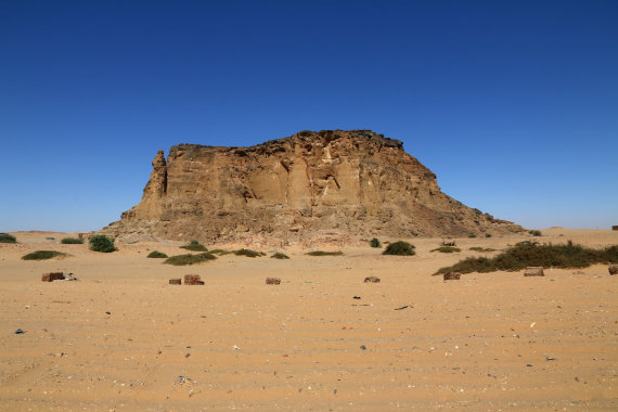 """Shutterstock"" nuotr./Džebel Barkalis, Sudanas, Afrika"
