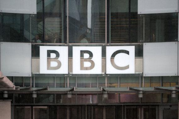 """""""Scanpix""""/""""PA Wire""""/""""Press Association Images"""" nuotr./Britų visuomeninio transliuotojo BBC emblema"""