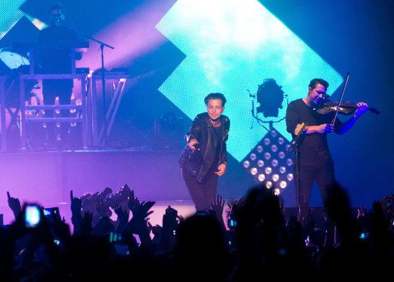 "Gretos Skaraitienės/Žmonės.lt nuotr./""OneRepublic"" koncertas Vilniuje"