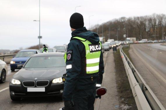 Kauno apskrities policijos nuotr./Kauno apskrities policijos reidas