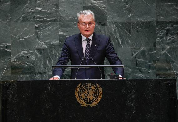 Prezidentūros/R.Dačkaus nuotr./Gitanas Nausėda