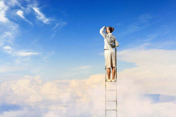123RF.com nuotr./Jei norime pasiekti tikslą, svarbu ne tik mintys, bet ir konkretūs darbai