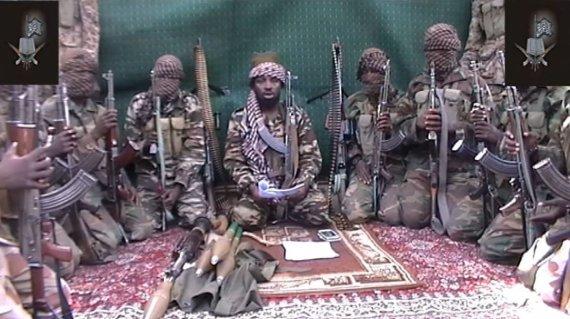 """AFP/""""Scanpix"""" nuotr./""""Boko Haram"""" smogikai"""