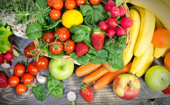 123rf.com nuotr. / Vaisiai ir daržovės