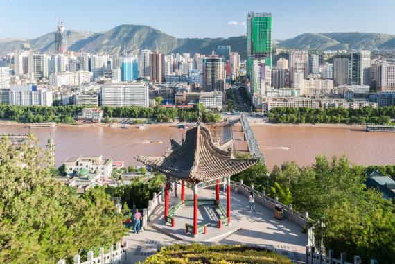 """""""Shutterstock"""" nuotr./Landžou, Kinija"""