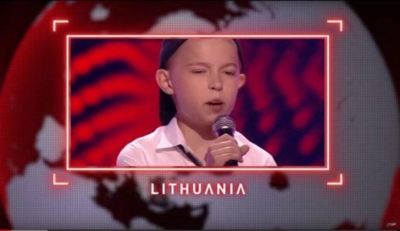 """Stop kadras/""""Lietuvos balsas. Vaikai"""""""