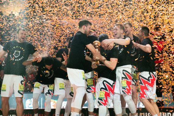"""Josvydo Elinsko / 15min nuotr./Karaliaus Mindaugo taurės čempionais tapo Vilniaus """"Rytas"""""""