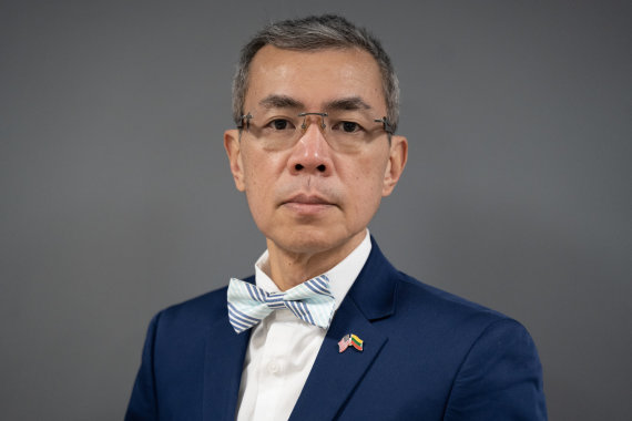 """LCC tarptautinio universiteto nuotr./Dr. Jeff Teo: """"Būdas kovoti su kibernetinėmis atakomis – sąmoningumo ir mokymosi skatinimas"""""""