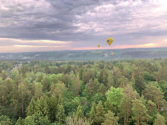 Kęstučio Petronio nuotr./Netikėtai pasikeitus oro sąlygoms, pilotai buvo priversti leistis.