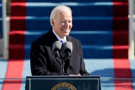 "AFP/""Scanpix"" nuotr./Joe Bideno inauguracijos ceremonija"