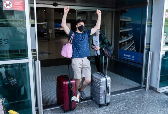 """AFP/""""Scanpix"""" nuotr./Keliautojas Kipre"""