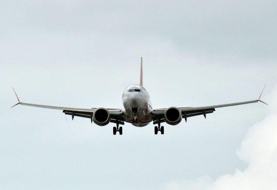 "AFP/""Scanpix"" nuotr./""Air Canada"" lėktuvas ""Boeing 737 MAX 8"""