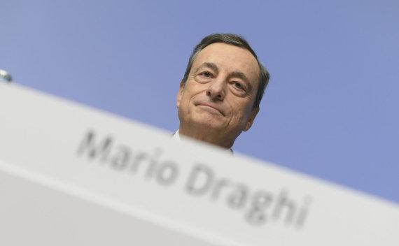 """Scanpix""/AP nuotr./Mario Draghi"