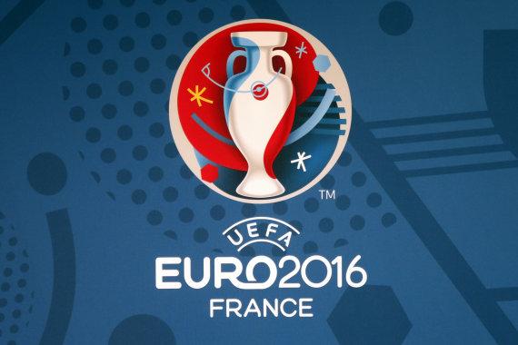 """Reuters""/""Scanpix"" nuotr./""Euro 2016"" logo"
