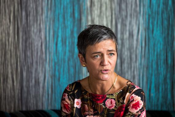 Vidmanto Balkūno / 15min nuotr./Eurokomisarė Margrethe Vestager