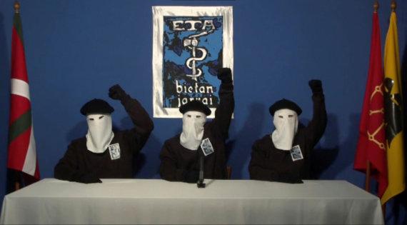 """Reuters""/""Scanpix"" nuotr./ETA separatistai 2011 metais"