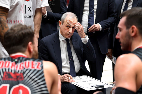 Euroleague.net nuotr./Ettore Messina