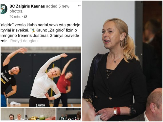 """15min nuotr./""""Ryto"""" komercijos direktorė Audra Ginelevičienė – """"Žalgirio"""" verslo klubo narė"""