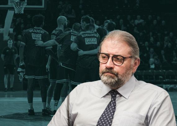 """15min nuotr./Panevėžio meras įtariamas iš """"Lietkabelio"""" prezidento paėmęs kyšį už miesto paramą krepšinio klubui"""