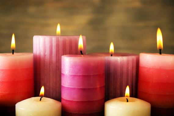 Fotolia nuotr./Žvakės