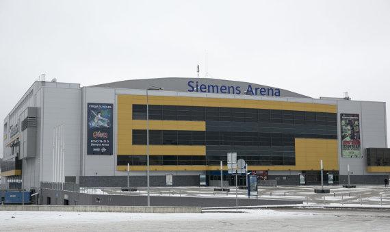 """Luko Balandžio/Žmonės.lt nuotr./""""Siemens"""" arena"""