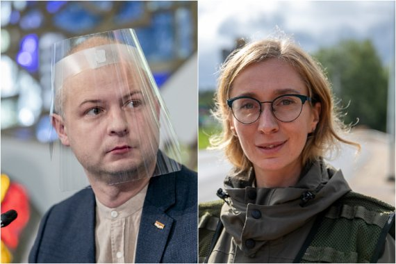 15min nuotr./Simonas Gentvilas ir Olga Vėbrienė