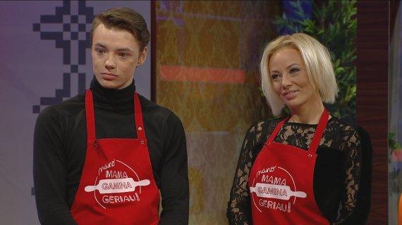 LRT nuotr./Vilija Pilibaitytė-Mia su sūnumi Matu