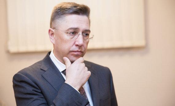 """Luko Balandžio / 15min nuotr./""""Icor"""" akcininkas Andrius Janukonis"""