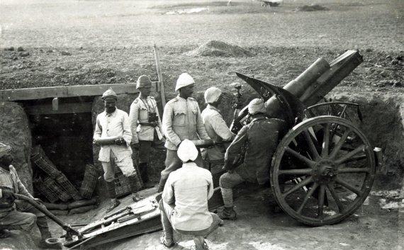 Wikipedia nuotr./Osmanų kariai Pirmojo pasaulinio karo metais