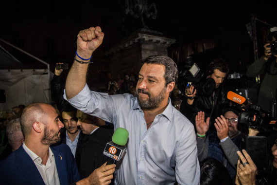 """Scanpix""/""SIPA"" nuotr./Matteo Salvini"