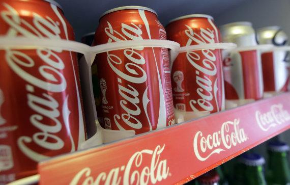 """Scanpix""/AP nuotr./""Coca Cola"" skardinės"