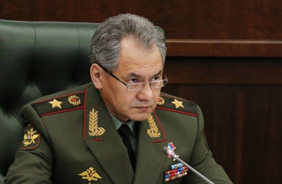 """AFP/""""Scanpix"""" nuotr./Rusijos kariuomenės vadas Sergejus Šoigu."""