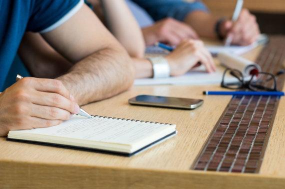 123RF.com nuotr./Universiteto studentai