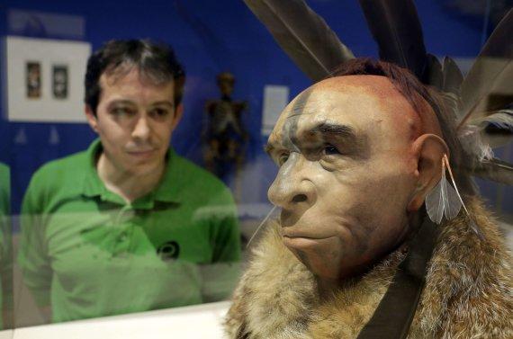 """AFP/""""Scanpix"""" nuotr./Žmonės su neandertaliečiais kartais bendravo labai artimai"""