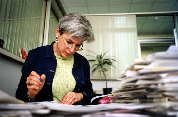 """""""Scanpix""""/""""SIPA"""" nuotr./Ana Politkovskaja"""