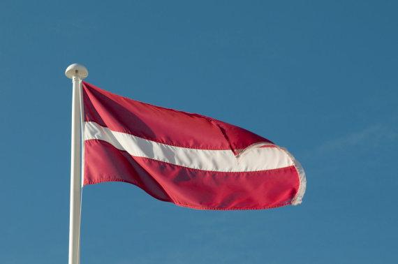 Vida Press nuotr./Latvijos vėliava