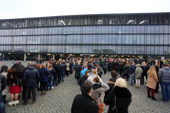 Teodoro Biliūno/15min.lt nuotr./Robbie Williamso koncerto Kaune svečiai