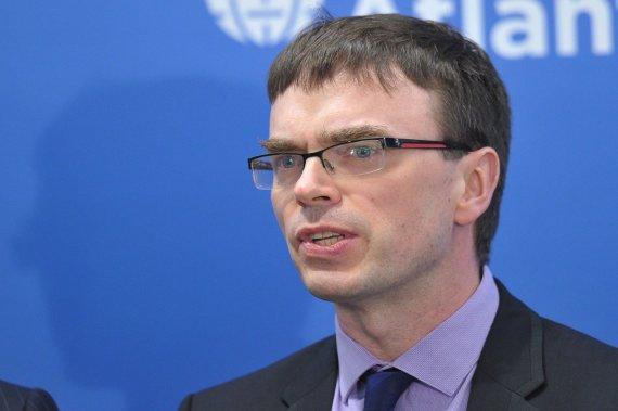 """AFP/""""Scanpix"""" nuotr./Estijos užsienio reikalų ministras Svenas Mikseris"""