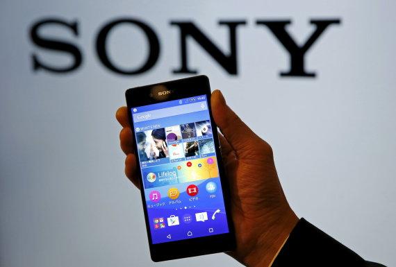 """Scanpix nuotr./""""Sony Xperia Z4"""""""
