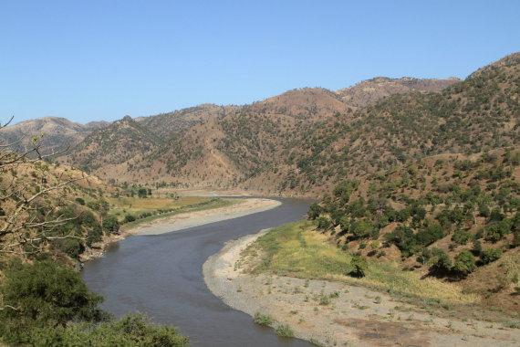 123rf.com nuotr./Mėlynasis Nilas Etiopijoje