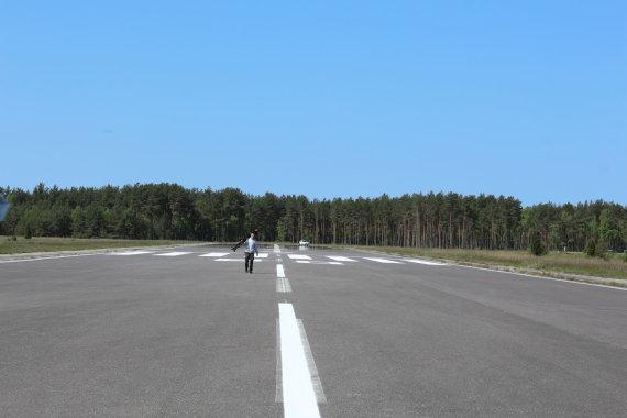J.Andriejauskaitės/15min.lt nuotr./Nidos orlaivių nusileidimo aikštelė