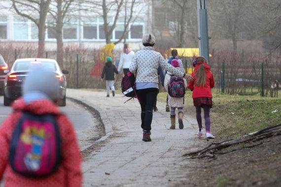 Juliaus Kalinsko / 15min nuotr./Kelionė į mokyklą