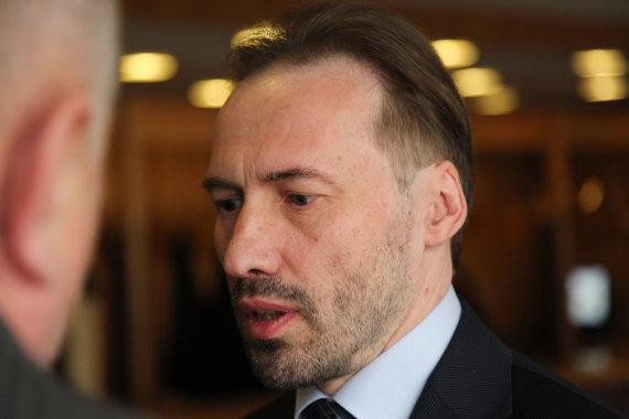 """Juliaus Kalinsko / 15min nuotr./""""Rokiškio pienas"""" direktorius Dalius Trumpa"""