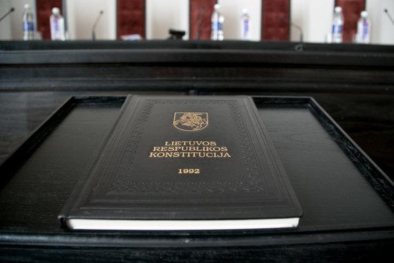 Juliaus Kalinsko / 15min nuotr./Konstitucinis Teismas