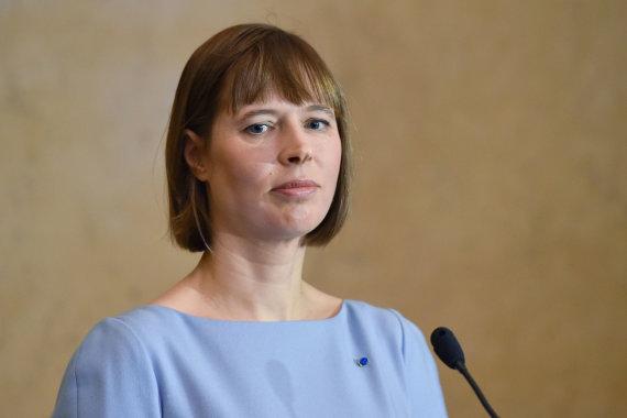 """Sputnik""/""Scanpix"" nuotr./Kersti Kaljulaid"
